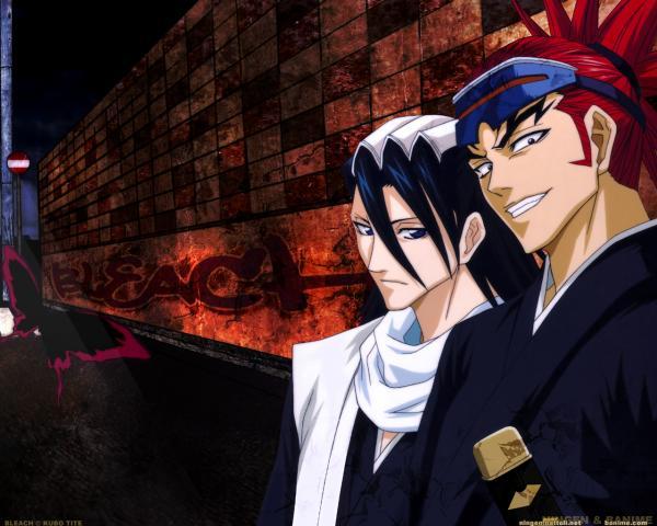 Byakuya vs. Renji