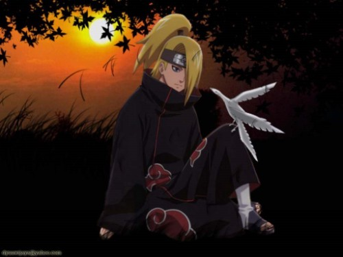"Deidara and his ""Art"""