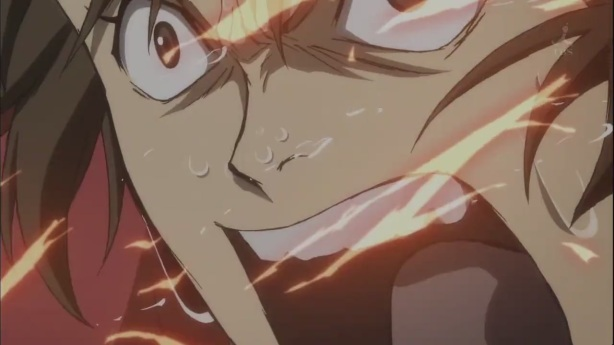 Yukimura angered. Don't mess with him…