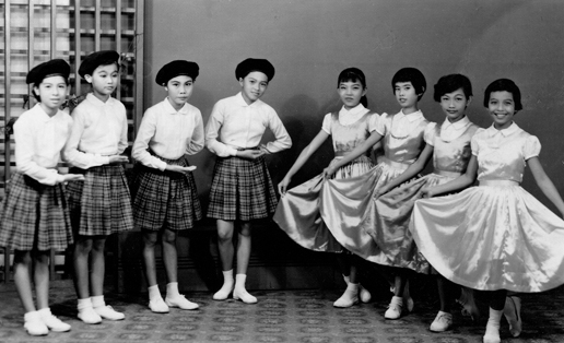 1961 Mommy's dance recital