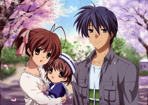 Nagisa, Ushio & Tomoya