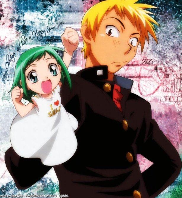 Seiji with his right hand - Midori