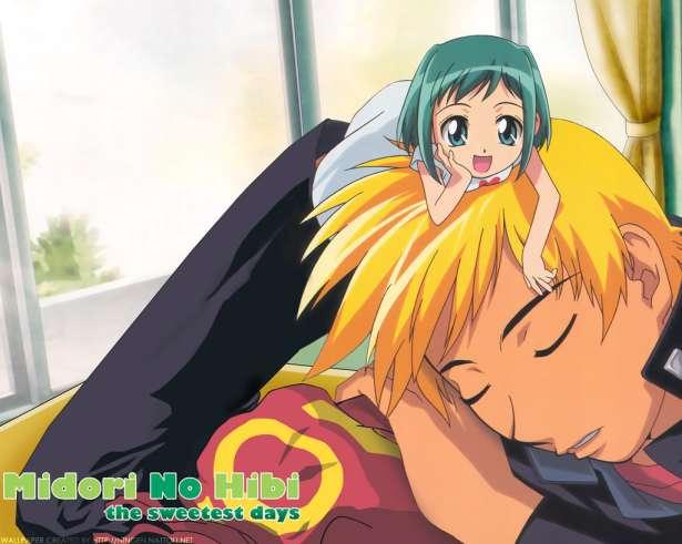 """Midori """"tending to"""" Seiji while he sleeps"""