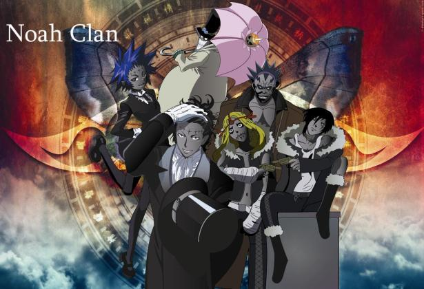 Noah Clan: Tykki, Road, Lelo, Millenium Earl
