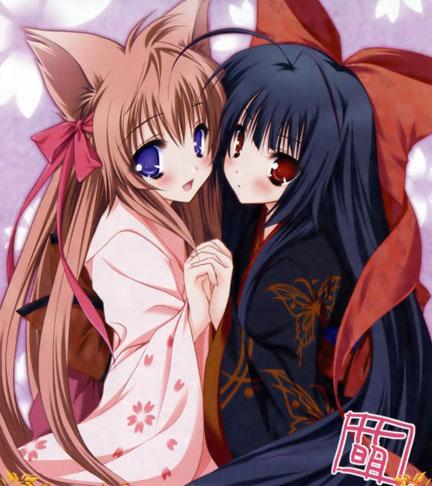 Mashiro & Nue