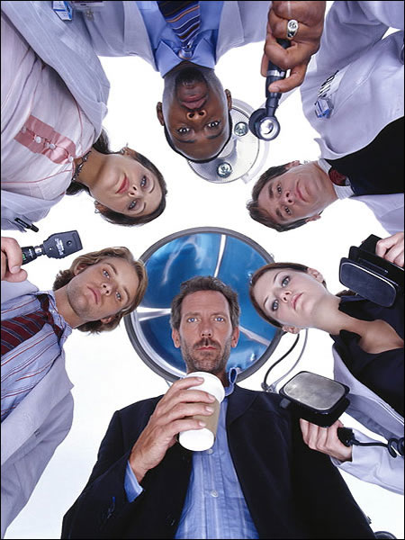 "House with his ""new"" team of ""old"" faces"