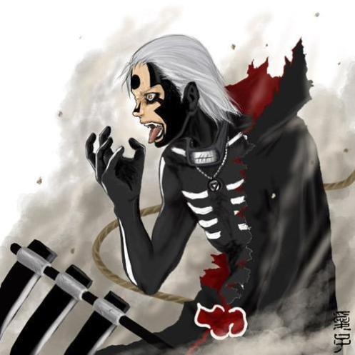 Hidan in his curse ritual