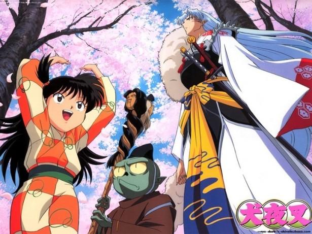 Rin, Jaken & Sesshomaru