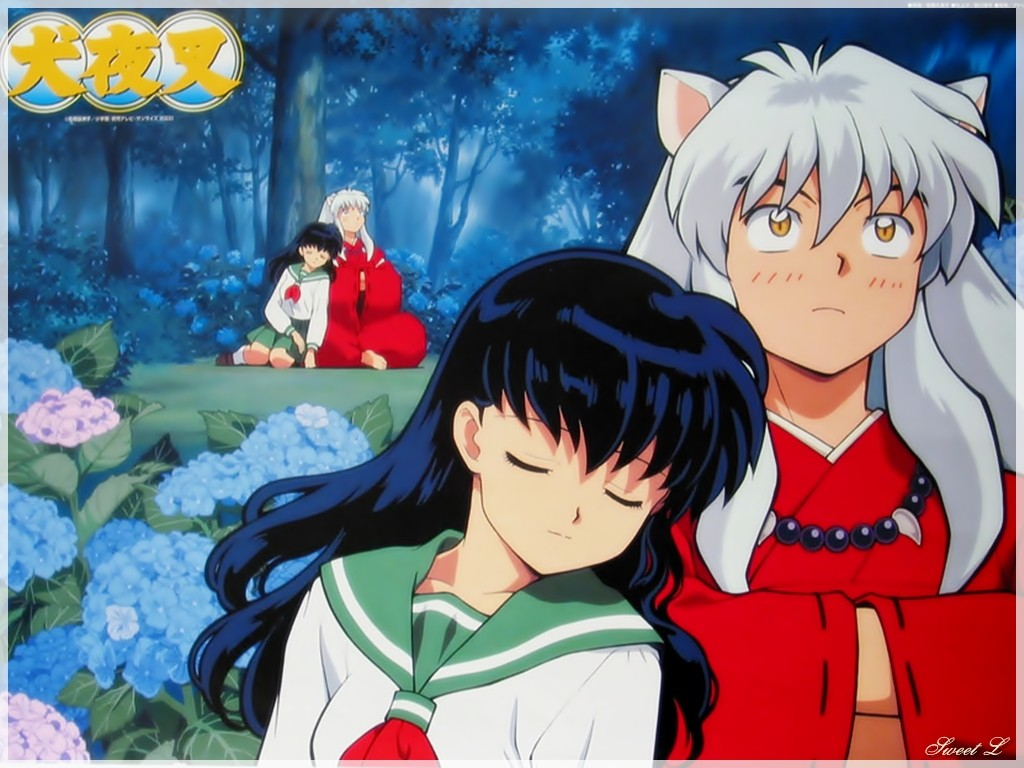 kagome and inuyasha Inuyasha kagome and shipo by ~alex420 on deviantART