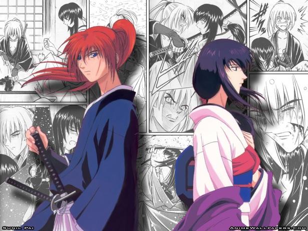 Kenshin & Tomoe