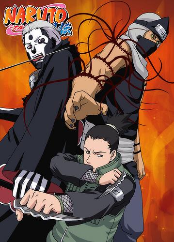 Shikamaru vs. Hidan-Kakuzu