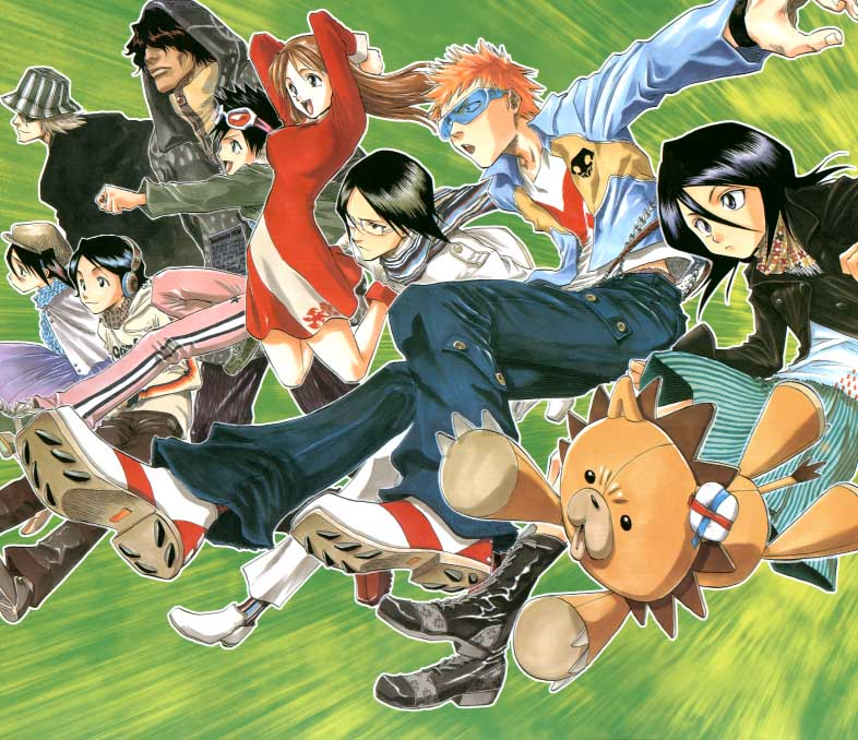 Free Anime Character Popularity Poll : Bleach iblos om