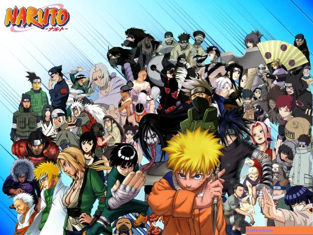 Cast of Naruto