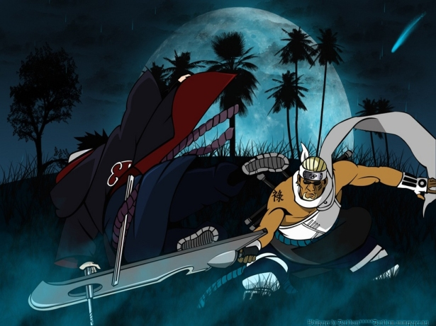 Killer Bee vs. Sasuke