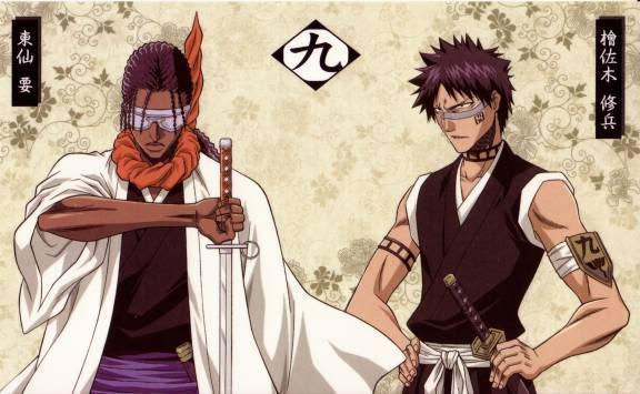 Tousen & Hisagi