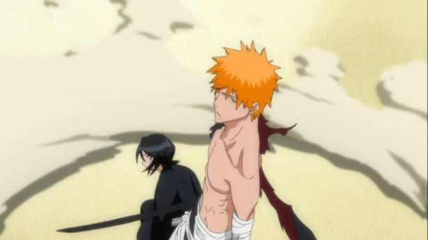 Rukia, the perpetual damsel in distress