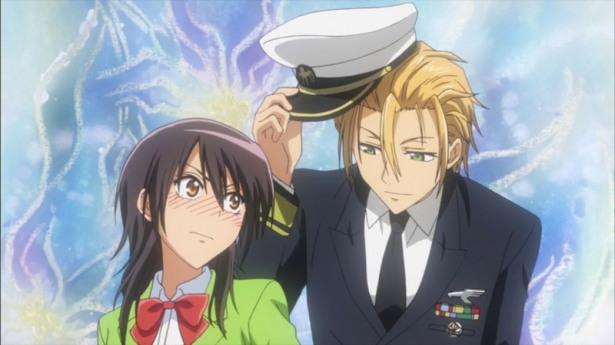 School  Cafe with Usui's help