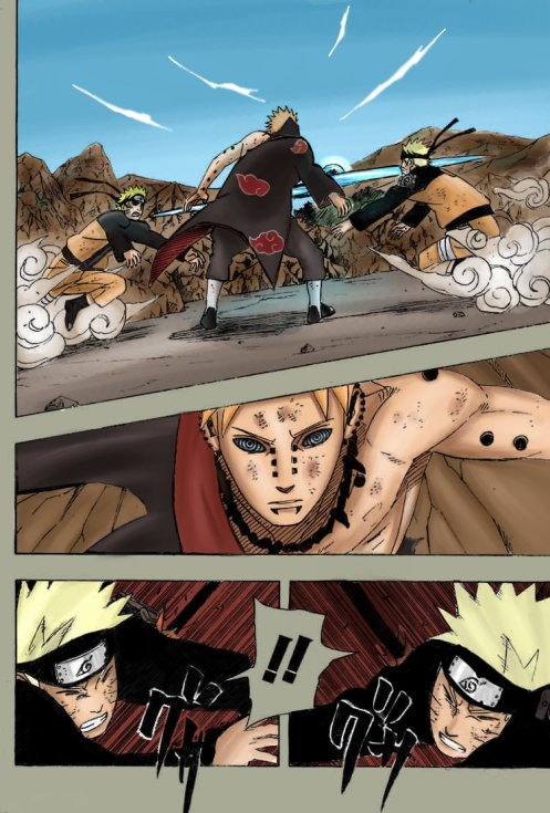 Naruto vs. Pain - Deva Path