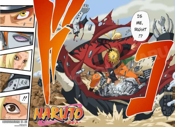 Naruto vs. Pain - Asura Path