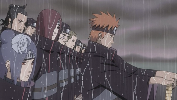 Yahiko, Nagato and Konan