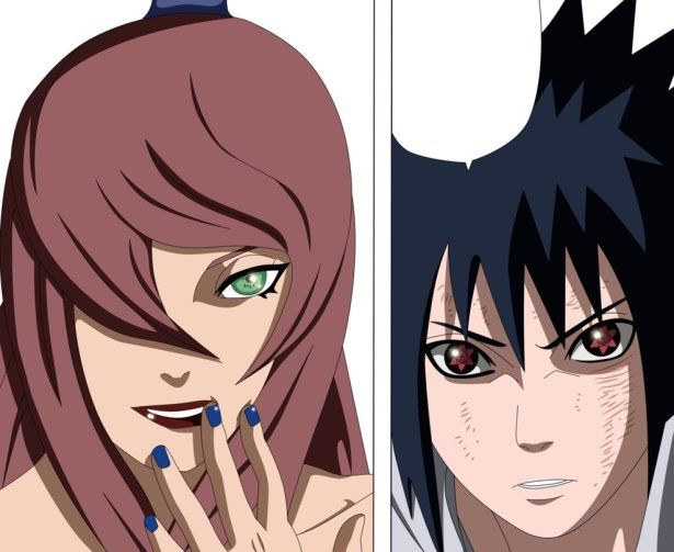 Mizukage vs Sasuke