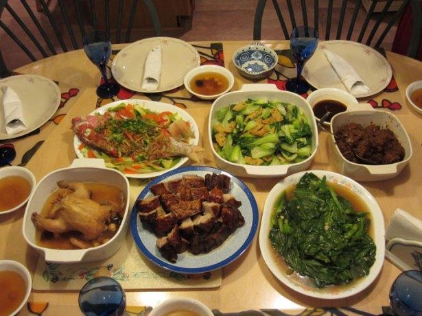 Reunion Dinner Feast