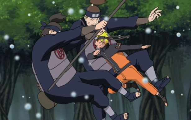 Naruto breaking free
