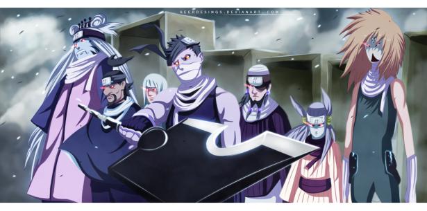 Seven Ninja Swordsmen of the Hidden Mist