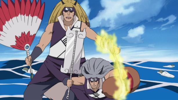 Kinkaku and Ginkaku with the Treasured Tools