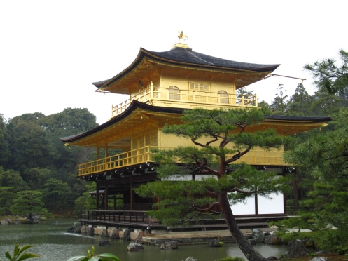 Kinkaku-ji side view