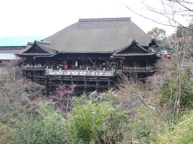 Main hall of Kiyomizu-dera