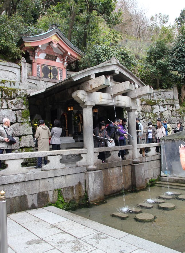 Otowa Fall - wishing well for others