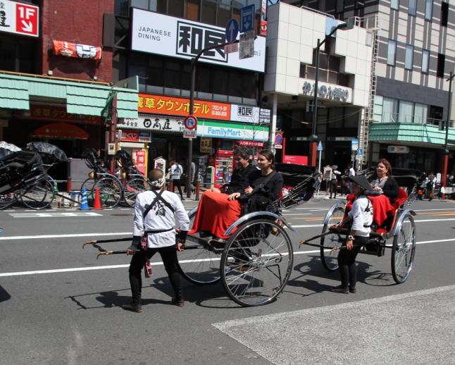 Asakusa rickshaw pullers