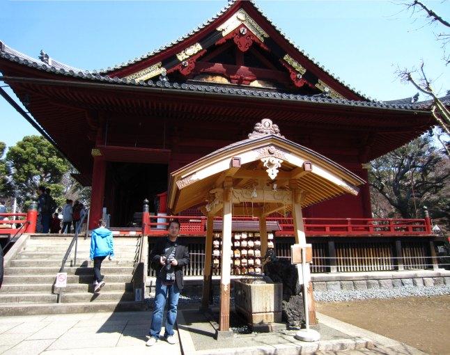 In front of Kiyomizu Kannondo