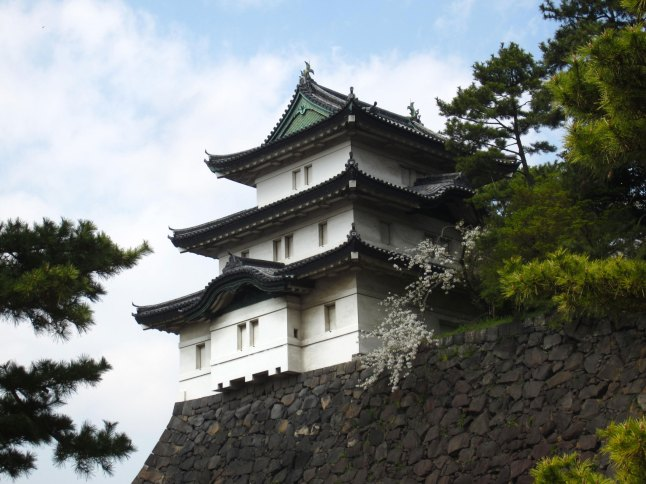 Fujimi-yagura, the watch tower of Edo Castle