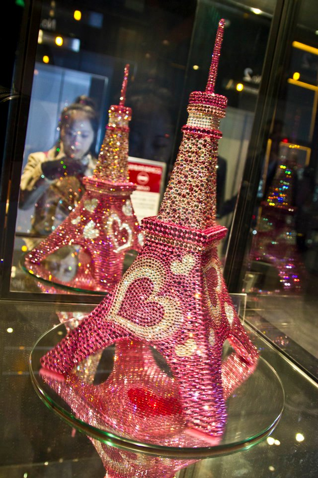 Bedazzled mini Tokyo Tower in the Tower
