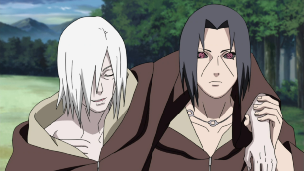 Itachi the crutch for Nagato