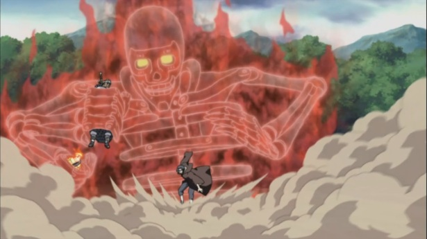 Itachi's Susanoo to the rescue